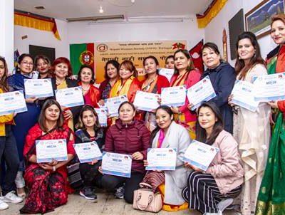 सस्थापक उपाध्यक्ष राइको पोल्टामा नेपाली नारी समाज पोर्तुगलको कार्यभार