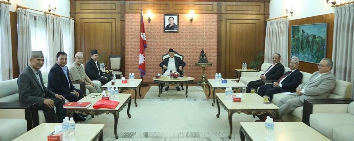 नेकपाको सचिवालय बैठक आज पनि बस्दै