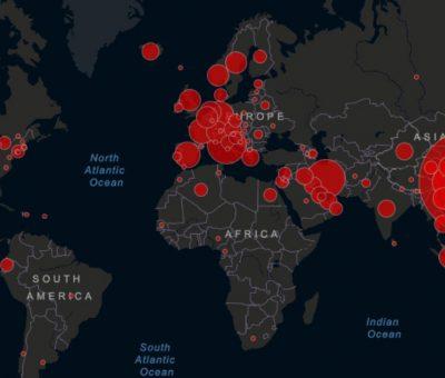 कोरोना भाइरस : विश्वभर २८ हजार भन्दा बढीको मृत्यु (पछिल्लो अपडेट)