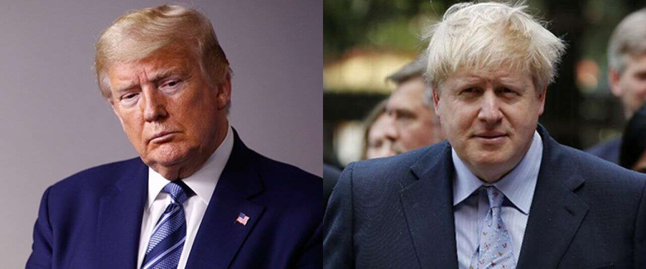 Trump 'saddened' over Boris Johnson's coronavirus condition, offers 'help' of 'brilliant' companies