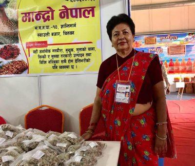स्वदेशी अर्गानिक उत्पादन विदेश पठाउंँदै 'मान्द्रो नेपाल'