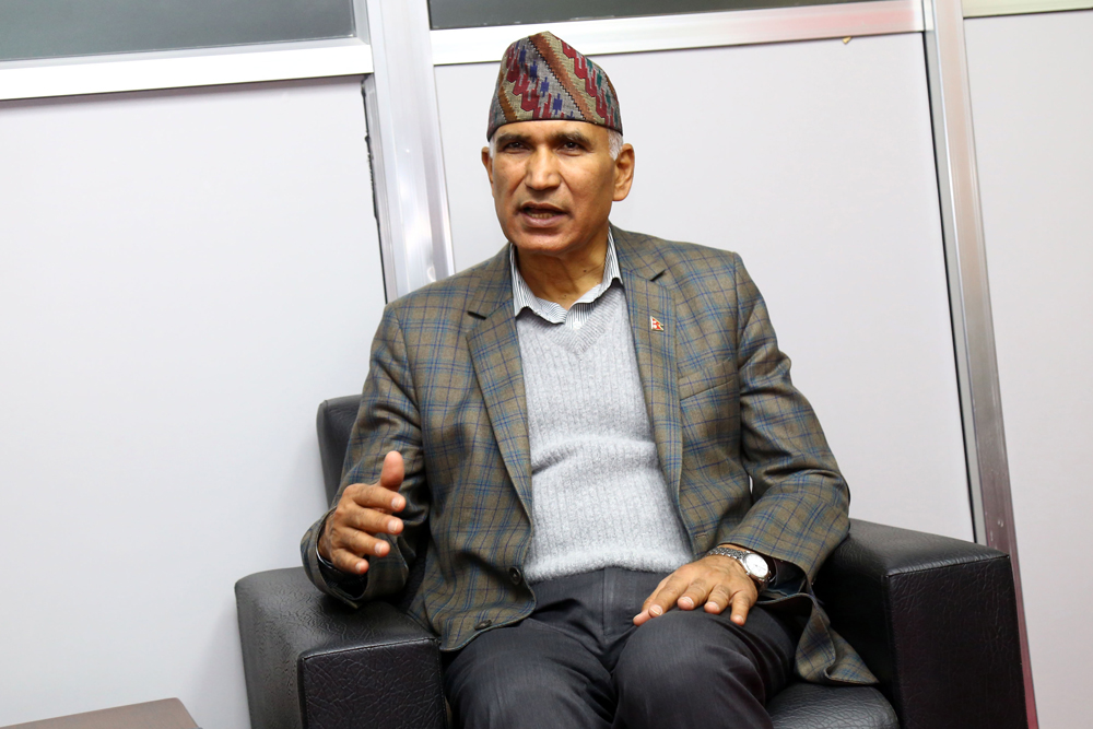 नेपाल कसैको छोटे भाइ होइन: नेकपा महासचिव पौडेल