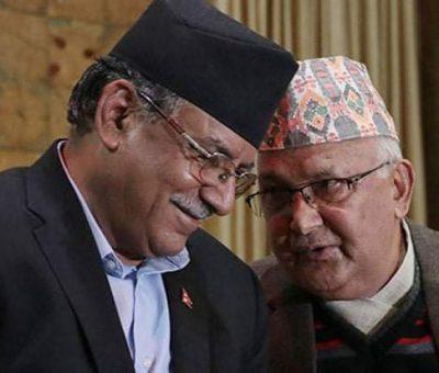 ओली-दाहालको छलफल बालुवाटारमा शुरु: छलफललाई राजनीतिक बृतमा चासोका साथ हेरिदै