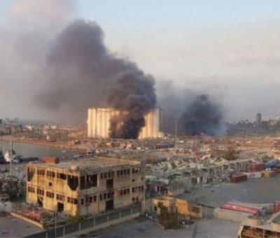 लेबनानको राजधानी बेरुतमा ठूलो विस्फोट: कम्तीमा ७० जनाको मृत्यु, ४ हजारभन्दा धेरै घाइते