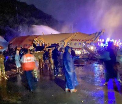भारतमा १९१ जना यात्रु बाेकेकाे जहाज दुर्घटना