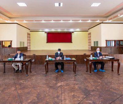 नेकपा स्थायी कमिटी बैठक : अध्यक्षद्वयद्वारा प्रस्तुत प्रस्ताव सर्वसम्मतिले पारित