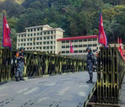 नेपाल-चीन तातोपानी नाका आजबाट खुल्दै