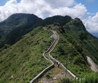 'पहाडकी रानी' को नामले परिचित तनहुँको पर्यटकीय स्थल बन्दिपुरमा मिनी ग्रेटवाल
