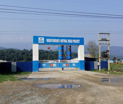 नारायणगढ–बुटवल सडक विस्तारले गति लिन सकेन