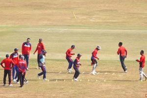 नेपाली राष्ट्रिय क्रिकेट टिमको बन्द प्रशिक्षण सुरु