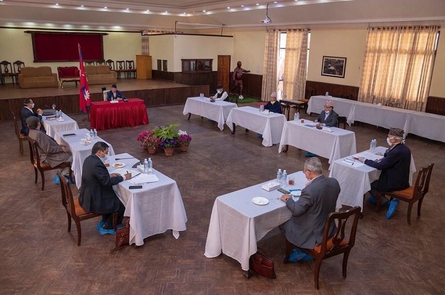 नेकपा सचिवालयको निर्णय: दुबै प्रस्तावमाथि एकैसाथ छलफल बढाउने