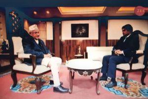 नेपाल र भारत सार्वभौम राष्ट्रको हैसियतमा बराबर– प्रधानमन्त्री केपी ओली(भिडियो सहित)