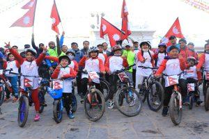 विश्वको सबैभन्दा अग्लो साइकल सहभागी हुने राइड टु सोमेश्वरगढी (भरतपुर टु माडी ) साइकलयात्राको तयारी पूरा