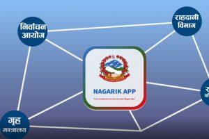 एक लाख भन्दा बढीले डाउनलोड गरे 'नागरिक एप'