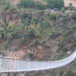 बाग्लुङ-पर्बत जोडने नेपालकै सबैभन्दा लामो झोलुङ्गे पुललाई विश्व रेकर्ड (गिनिज बुक)मा पनि राख्ने प्रक्रिया शुरु