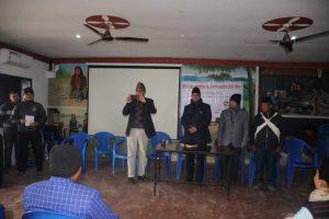 बागमती प्रदेशका पत्रकारको मोजो तालिम माडीको अयोध्यापुरीमा शुरु