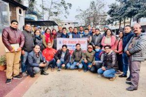 प्रेस संगठन चितवनले माघ ८ गते काठमाडौंमा हुने राष्ट्रिय भेलामा सक्रिय सहभागिता जनाउने निर्णय