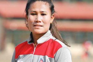 राष्ट्रिय महिला क्रिकेट कप्तान रुविनालाई अभिनन्दन