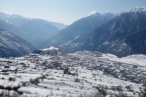 सिमकोटसहित आसपासका क्षेत्रमा दुई दिनको हिमपात , हिउँ परेपछि कृषक खुसी (फोटो फिचर)