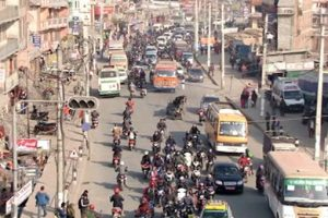काठमाडौँ महानगरपालिकामा आधुनिक सडक बत्ती जडान गरिँदै