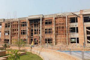 देवदहमा बौद्ध विश्वविद्यालयको नयाँ पूर्वाधार निर्माण हुँदै
