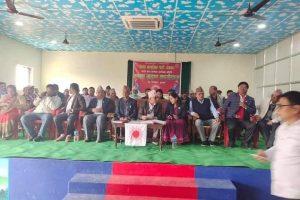 नेकपा राप्ती नगर कमिटी बिस्तार तथा सपथ ग्रहण कार्यक्रम सम्पन्न