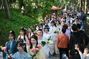 CHINA-FUJIAN-FUZHOU-FLOWER FESTIVAL-CELEBRATION (CN)