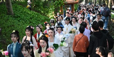CHINA-FUJIAN-FUZHOU-FLOWER FESTIVAL-CELEBRATION (CN)