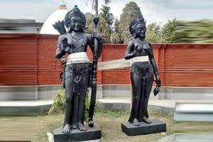 चितवनको अयोध्यामा राम, सीता, लक्ष्मण र हनुमानको मूर्ति स्थापनाको तयारी