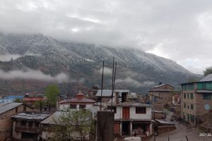 जुम्लामा भारी वर्षा संगै हिमपात, किसानलाई राहत