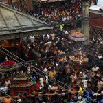 जात्रामय बन्यो भक्तपुर र थिमि: बिस्का जात्रामा हजारौँ सर्वसाधारणको भीड