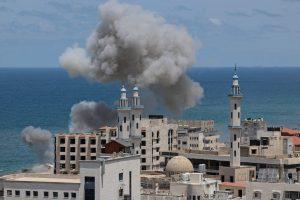 रोकिएन इजरायल-प्यालेस्टाइन युद्ध: इजरायली लडाकू विमानद्वारा गाजा शहरमा थप आक्रमण