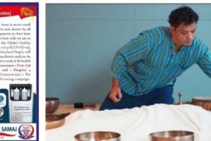 ग्लोबल गोरखा समाजको 'अक्सिजन कन्सनट्रेटर' अभियानमा ताईवानका समाजसेवी रोहित श्रेष्ठद्वारा रु.१ लाख सहयोग