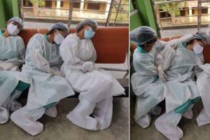 अन्तरराष्ट्रिय नर्सिङ दिवस, पिपिईभित्र गुम्सिँदै सेवामा नर्सहरू