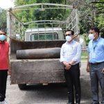 चितवनको भरतपुर अस्पताललाई अक्सिजन सहयोग