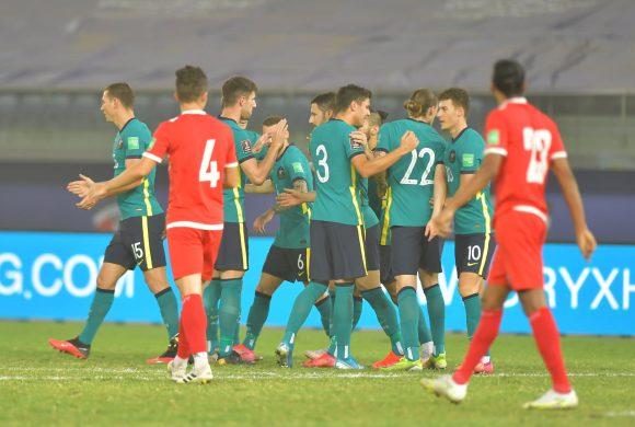 विश्वकप छनाैटको अन्तिम खेलमा नेपाल अस्ट्रेलियासँग ३-० ले पराजित