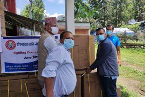 ग्लोबल गोरखा समाजद्वारा गृह जिल्लामा ४० थान अक्सिजन कन्सनट्रेटर सहयोग