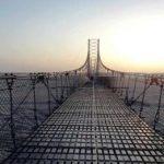 सिक्टा नदीमा रहेको झोलुङ्गे पुल भत्कँदा आवतजावतमा समस्या