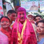 नेपाली काँग्रेस भरतपुर महानगरको सभापतिमा चित्रसेन अधिकारी बिजयी