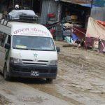 नारायणगढ–बुटवल सडक: खाल्डाखुल्डीले सवारी गुडाउन सकस