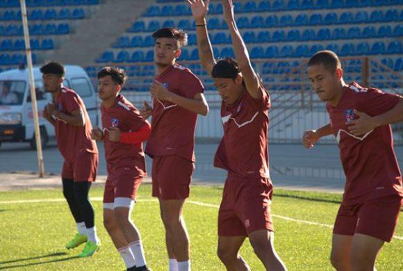 यु-२३ एसियन कप छनौंट: आज नेपालले इरानसँग खेल्दै