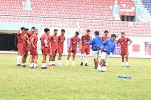 एसियन कप छनोट खेल्ने नेपाली टोली ताजिकिस्तान प्रस्थान